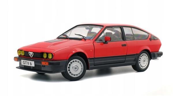 Solido Alfa Romeo Gtv6 Red 19841 18 1802301 8825758457 Oficjalne Archiwum Allegro