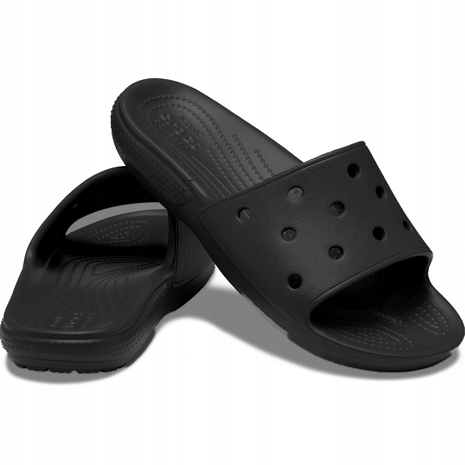Crocs klapki Classic Slide czarne 206121 001 41-42