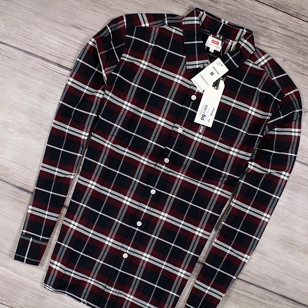 LEVIS Męska Nowa Koszula w Kratkę Premium M 7960179057  SLrmh