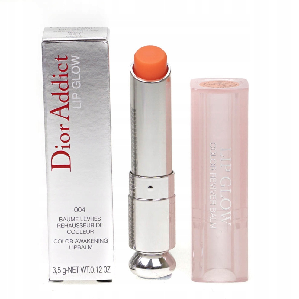 CHRISTIAN DIOR ADDICT LIP GLOW 004 CORAL 3,5G HIT!