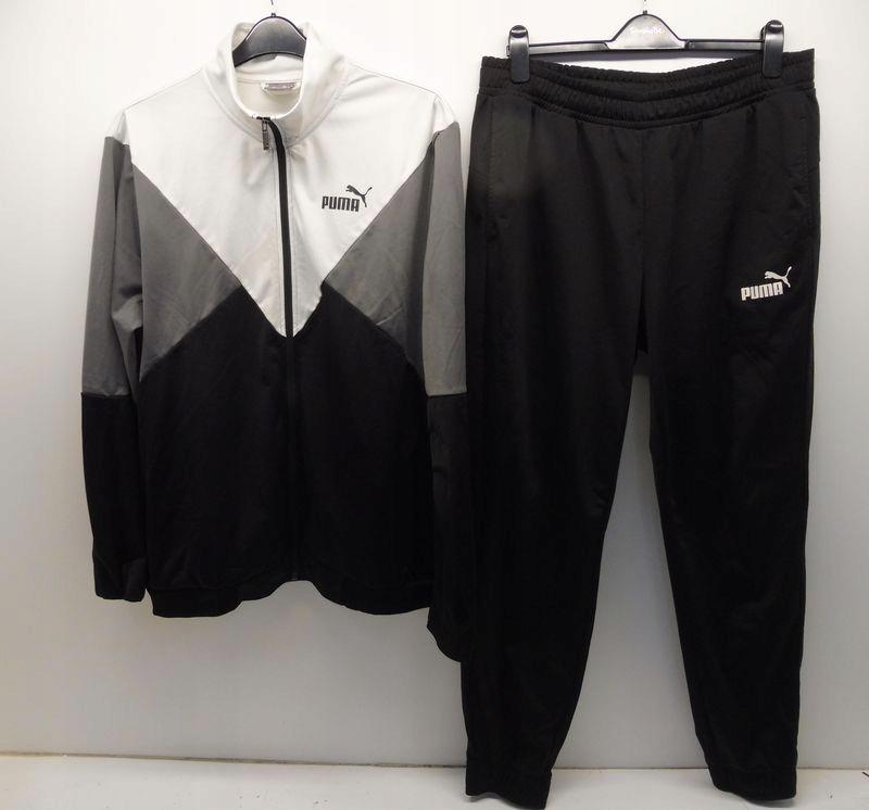 Puma Dres Męski Sportowy Komplet Spodnie Bluza XL