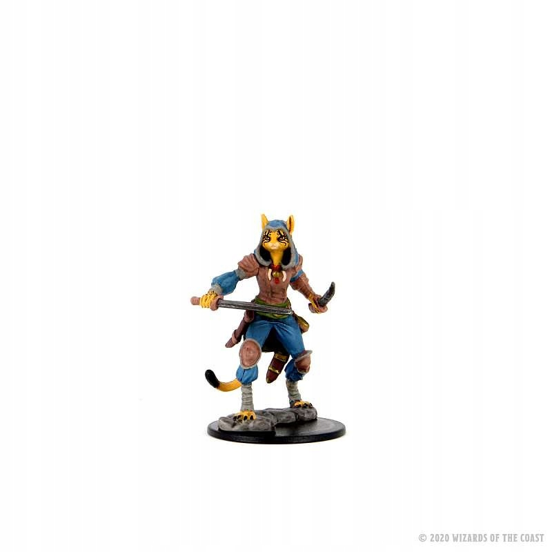 DnD Icons of Realms Premium Female Tabaxi Rogue