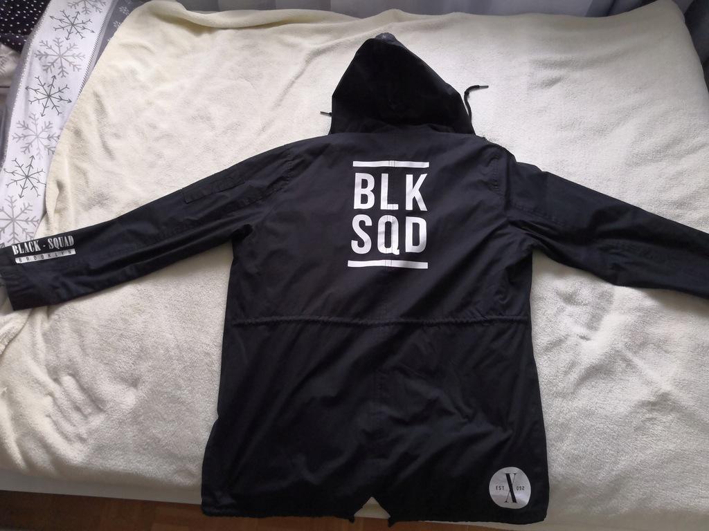 black squad kurtka czarna