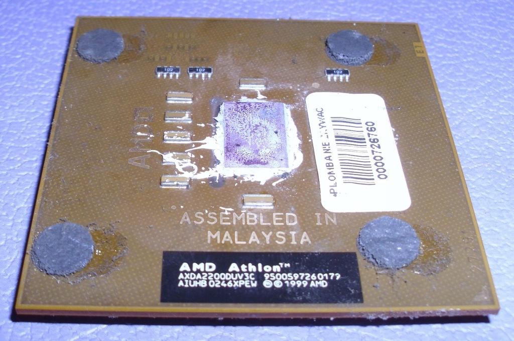procesor AMD Athlon XP 2200+ AXDA2200DUV3C