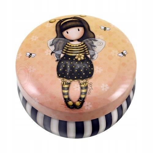 Blaszane pudełko na ozdoby - Bee Loved