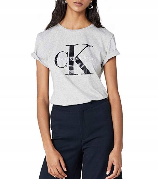 Calvin Klein T Shirt Damski 100 Bawelna Rozm S 7826839275 Oficjalne Archiwum Allegro