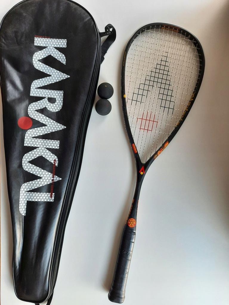 Rakieta do squasha Karakal RAW 130 Graphite