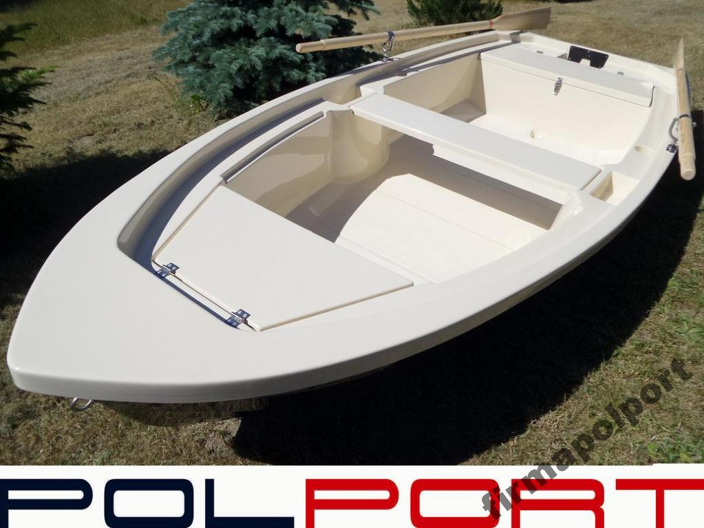Łódź łódka wiosłowa wędkarska POLPORT 340 NOWOŚĆ