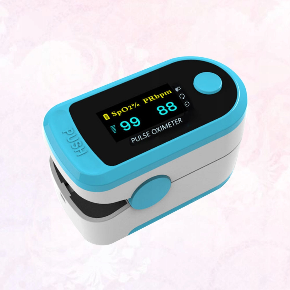 Profesjonalny klips oksymetryczny Monitor tlenu we