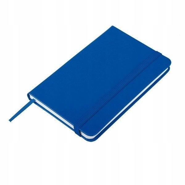 Notatnik 80x127/80k kratka Palencia, niebieski
