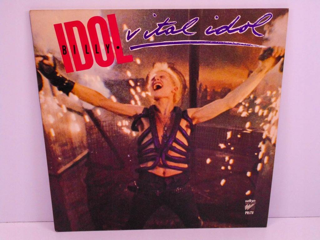 LP BILLY IDOL VITAL IDOL NM !