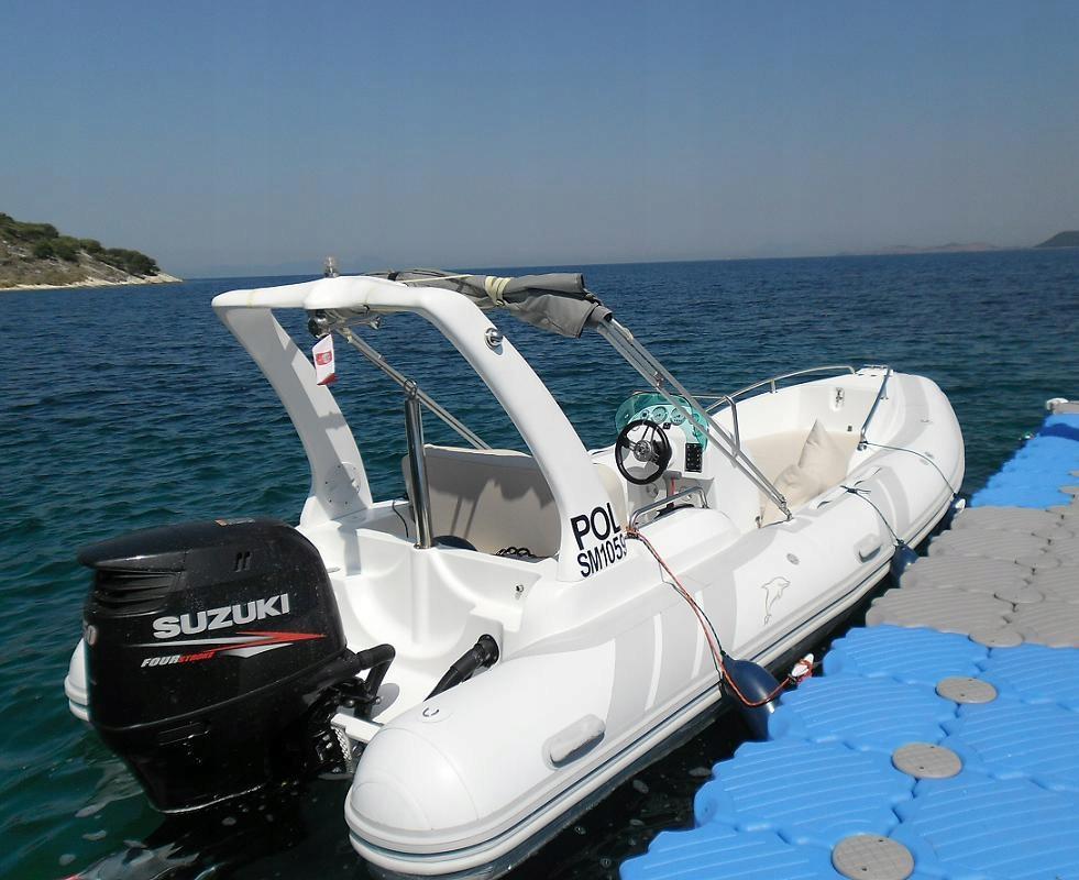 Ponton Rib Oceanic 580C z silnikiem Suzuki 150KM