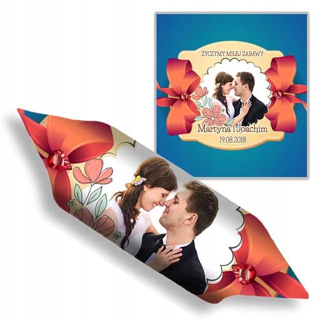 Krówki weselne dla gości ślub wesele PROJEKT