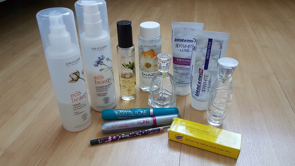 Zestaw kosmetyków ecobeauty oriflame little garden