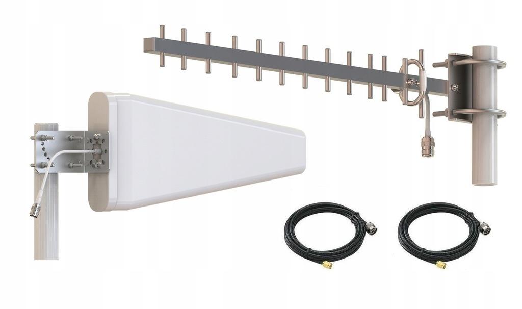 Zestaw specjalnie do ZTE MF286 LTE 2x Antena +5 m.