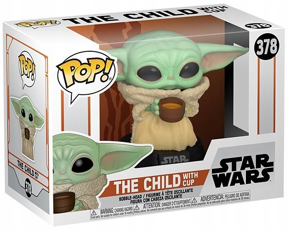 FUNKO POP THE MANDALORIAN - THE CHILD WITH CUP