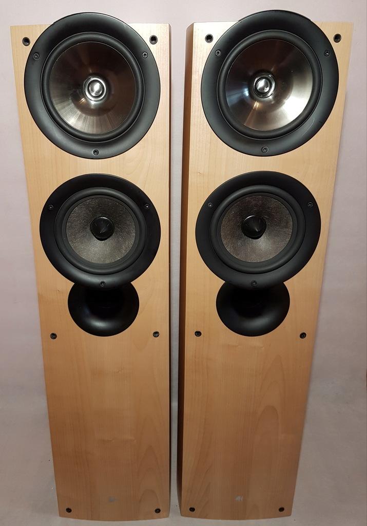 KEF IQ7 – maple - świetne kolumny głośnikowe