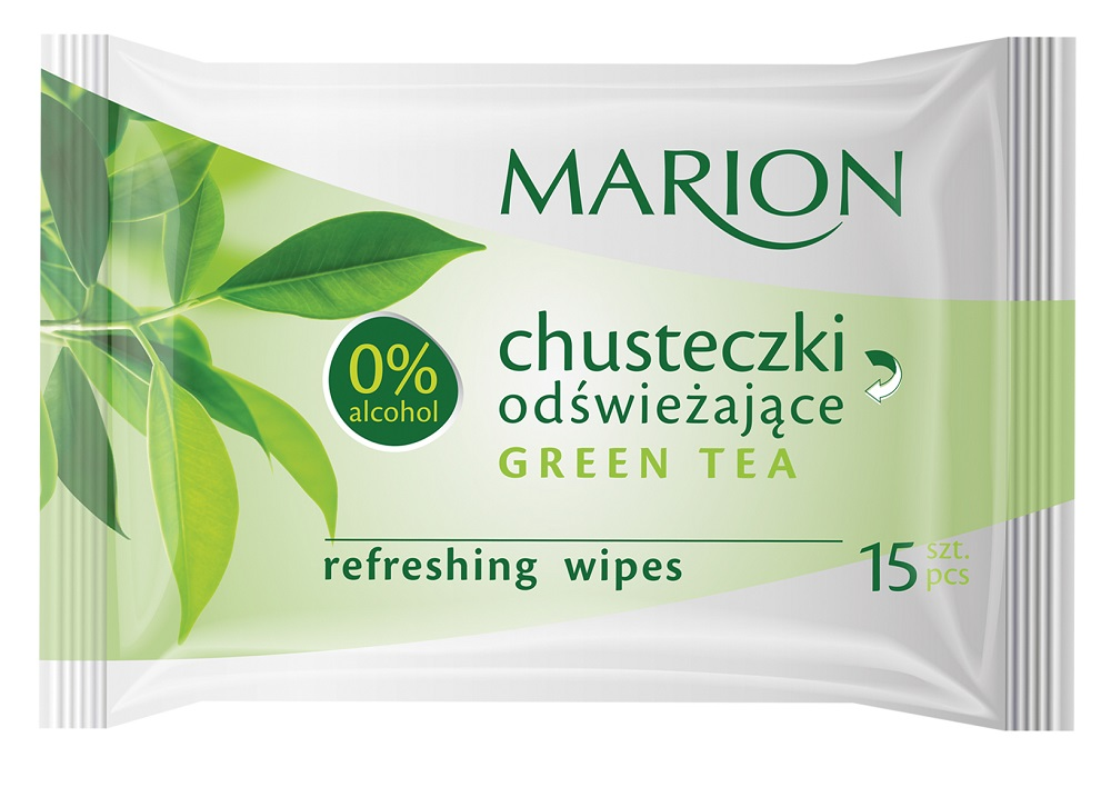 Marion chusteczki odświeżające Green Tea Refreshin