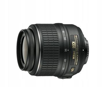 Nikon Nikkor AF-S DX 18-55 mm f/3.5-5.6G VR Nowy !