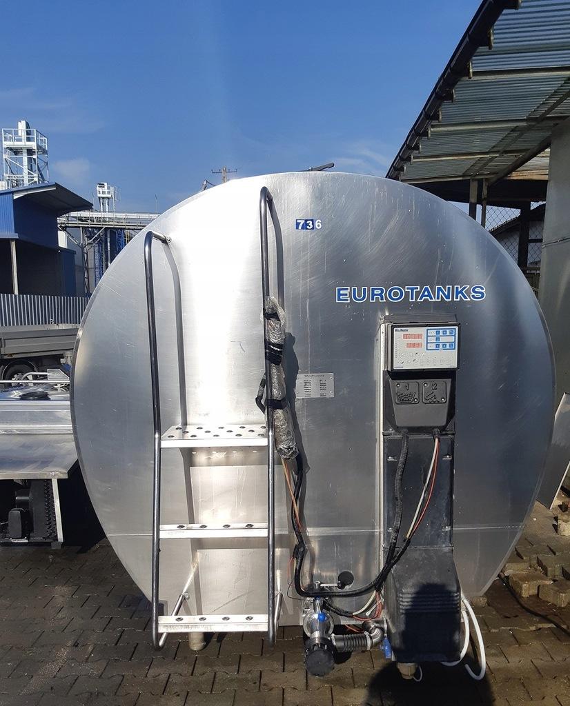 Zbiornik Do Mleka Schladzalnik Eurotanks 10000l 7862555211 Oficjalne Archiwum Allegro