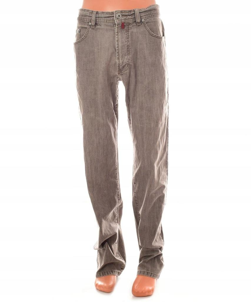 Pierre Cardin Spodnie męskie jeans proste ~ W33L34