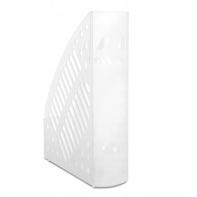 Pojemnik na dokumenty ażurowy A4 biały