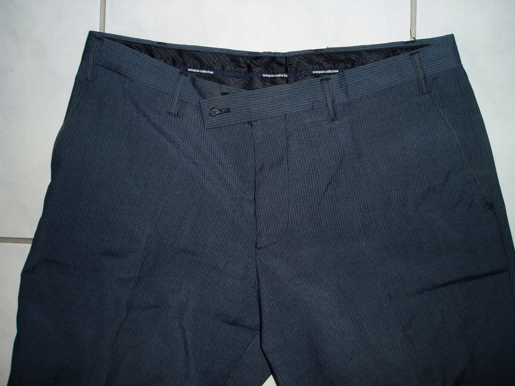 MANGUUN COLLECTION - spodnie w prążki/48