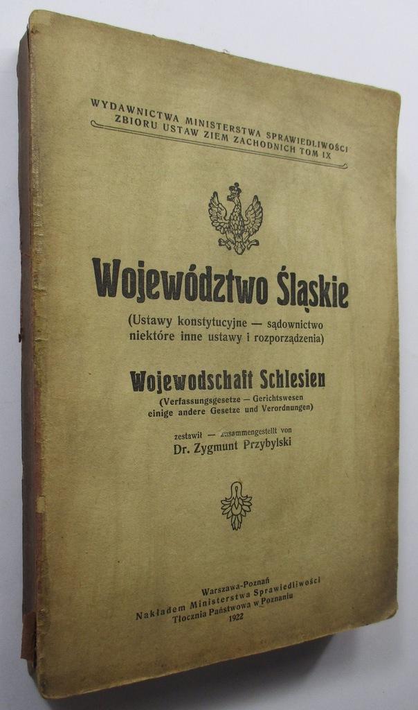 Województwo Śląskie ustawy konstytucyj. Przybylski