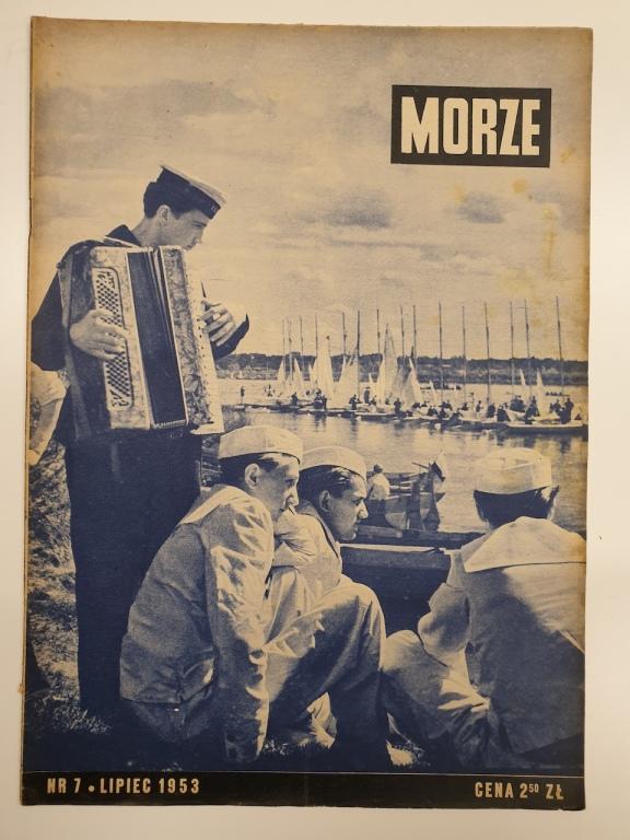 Morze – miesięcznik marynistyczny nr 7/1953