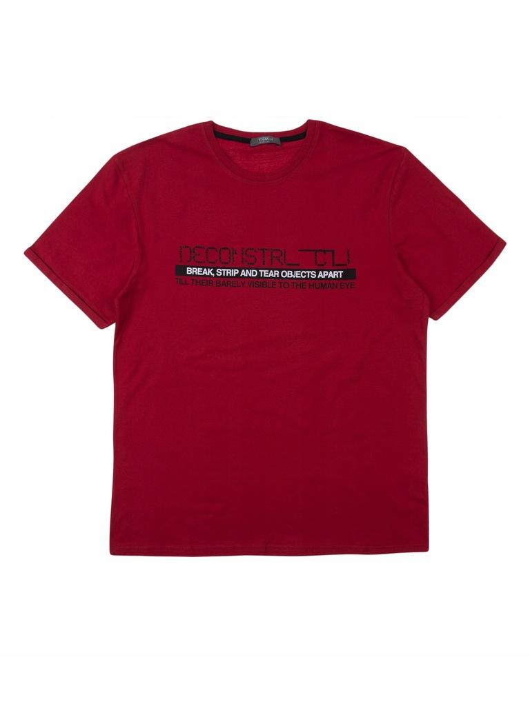 TXM t-shirt męski L CZERWONY