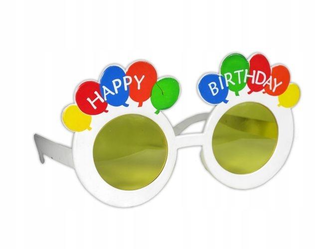 Okulary Happy brithday