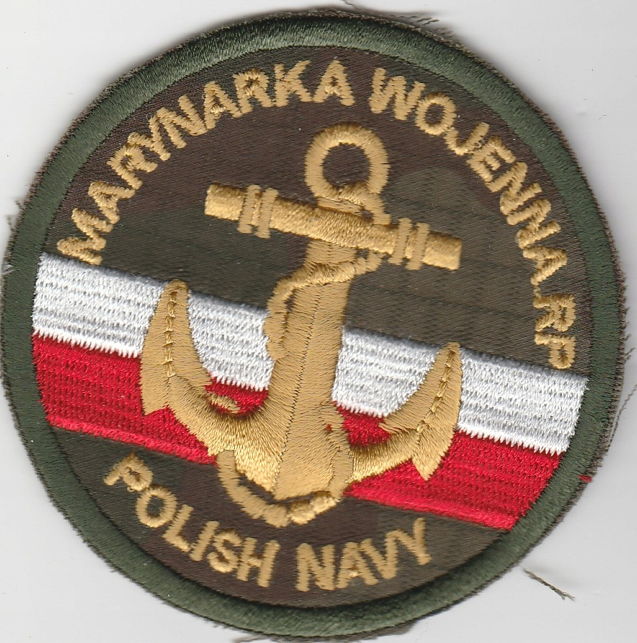 Naszywka Marynarki Wojennej nowego wzoru