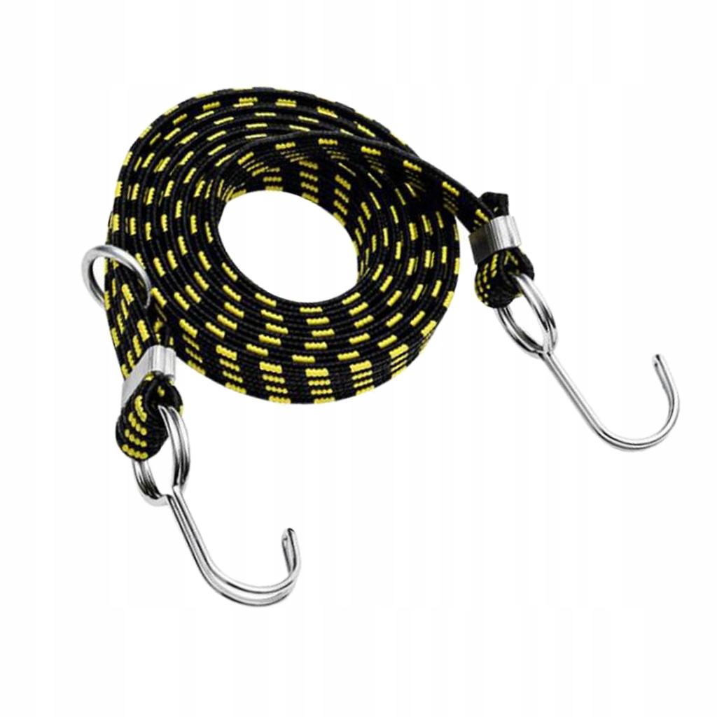 1 kawałek elastycznego paska - Żółty 4m