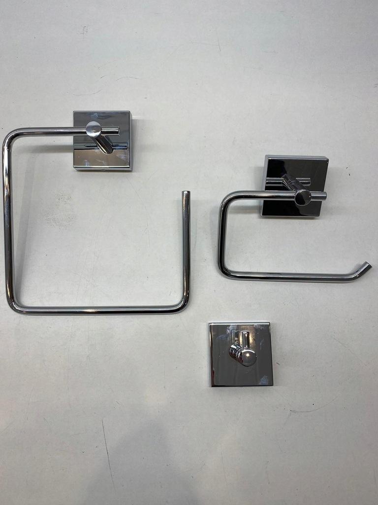 Croydex Romsey zestaw uchwytów łazienkowych /A/H
