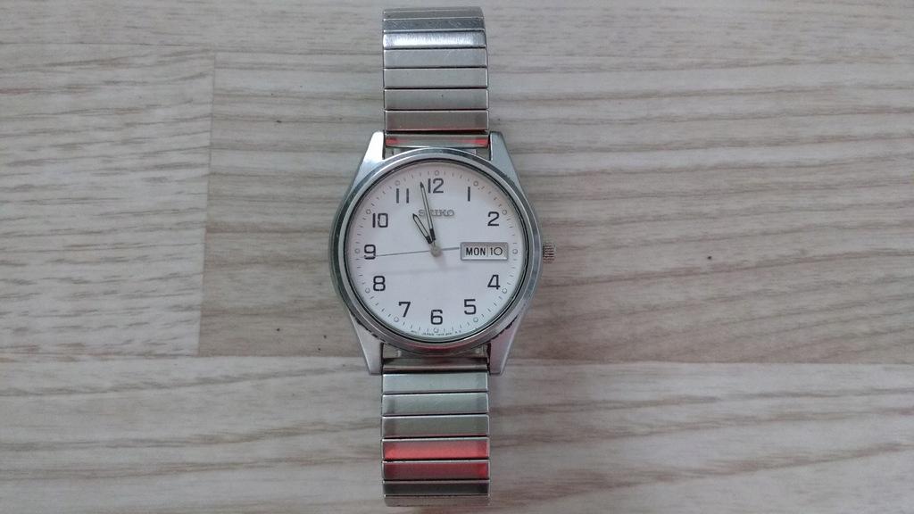 Oryginalny męski zegarek SEIKO