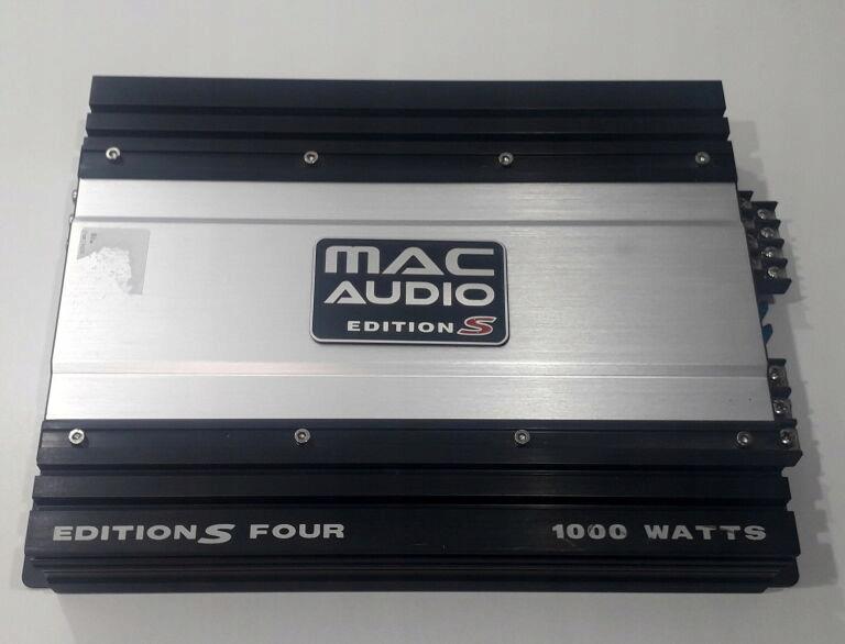 WZMACNIACZ SAMOCHO. MAC AUDIO EDITION S 1000 WATT