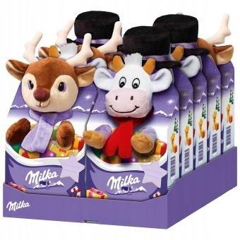 Milka Maskotka ze Słodyczami Świątecznymi