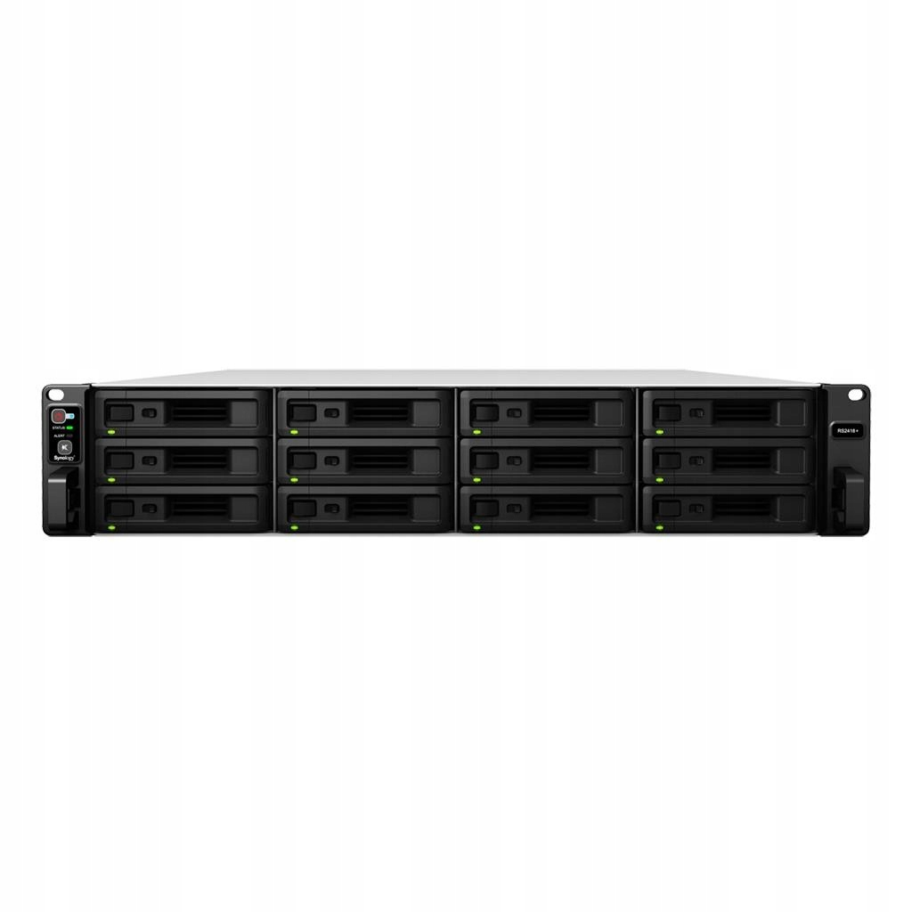 Synology RS2418RP+, 12-Bay SATA, Intel 4C 2,1GHz,