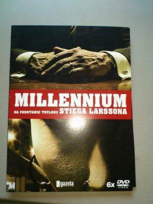 MILLENIUM WSZYSTKIE 3 CZĘŚCI  6 PŁYT DVD