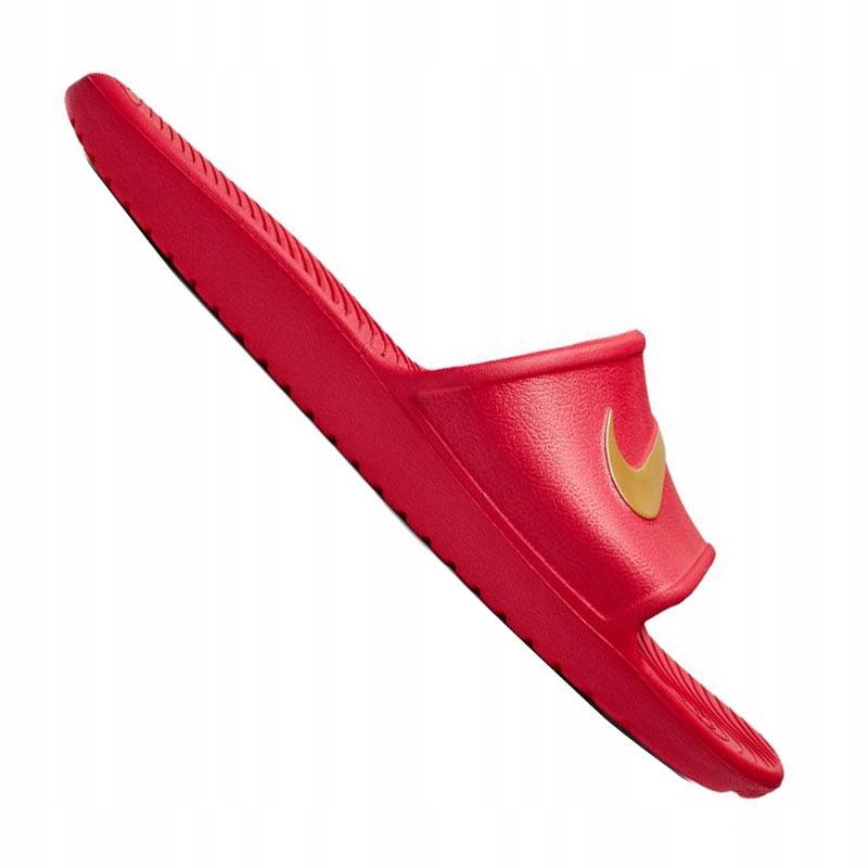 Klapki basenowe NIKE KAWA Shower czerwone - 44