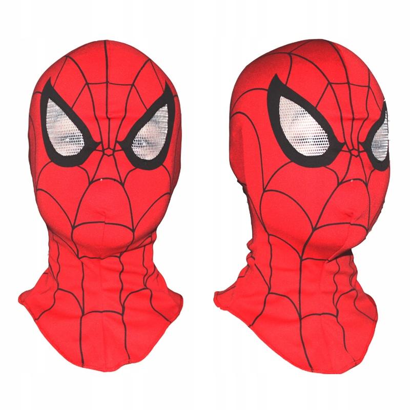 SPIDER-MAN MASKA Spiderman Przebranie Karnawałowa