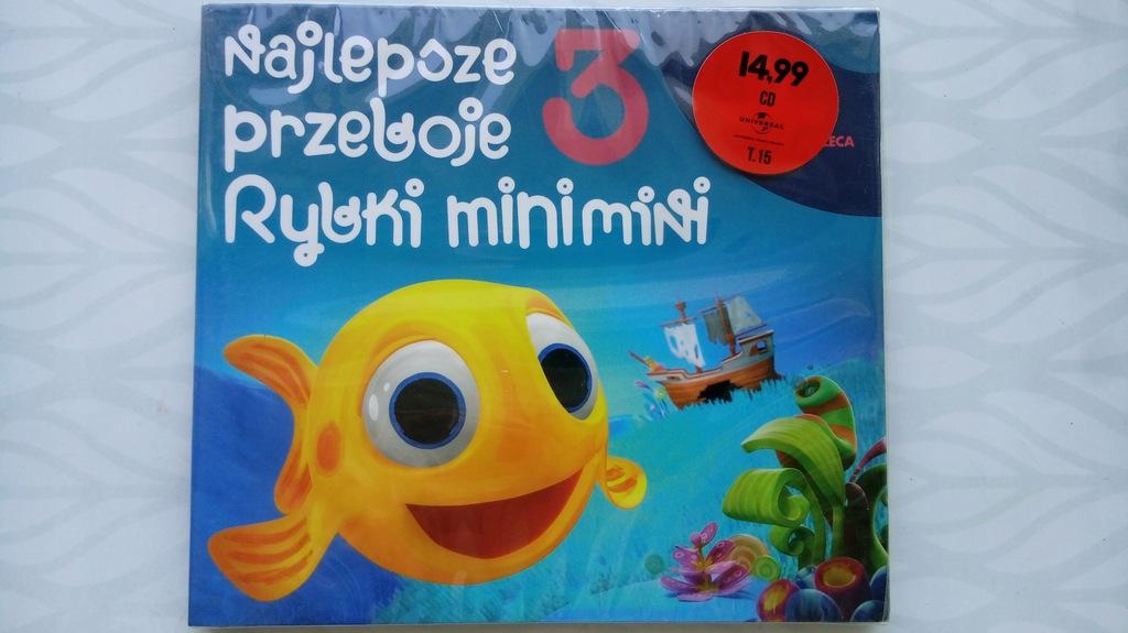 NAJLEPSZE PRZEBOJE RYBKI MINIMINI 3 (CD) FOLIA