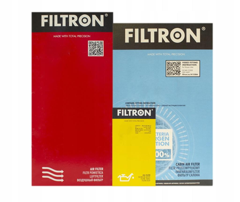 KPL FILTRÓW FILTRON SEAT ALTEA XL 1.9 TDI WĘG