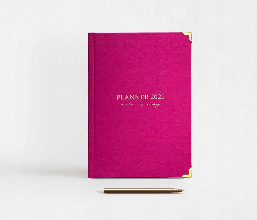 Kalendarz książkowy tygodniowy 2021 - MagicPink