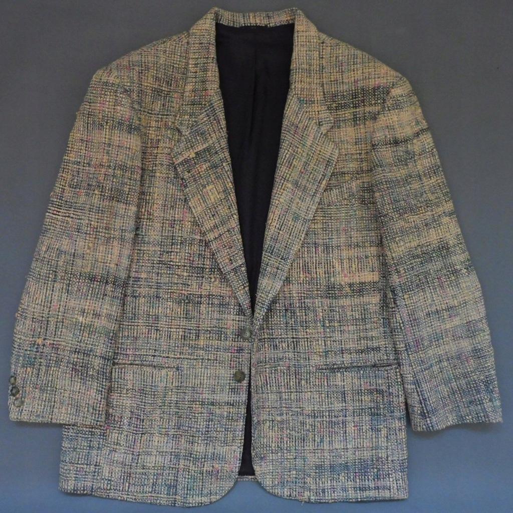 Emil Rutenberg Silk Vintage Blazer Marynarka