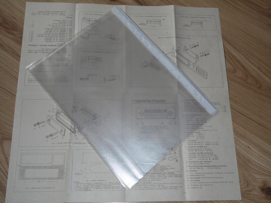 Oryginalna instrukcja i schemat ideowy SAFARI 6