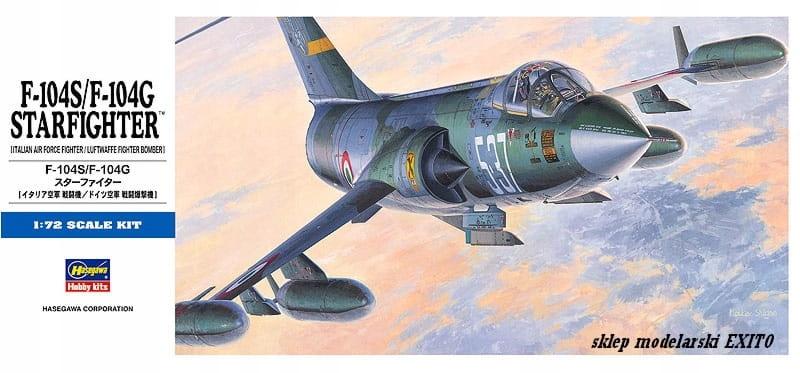 HASEGAWA D17 - 1:72 F-104S / F-104G Starfighter