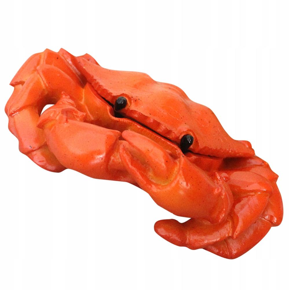 Projekt kraba Popielniczka z pokrywką Kreatywny do