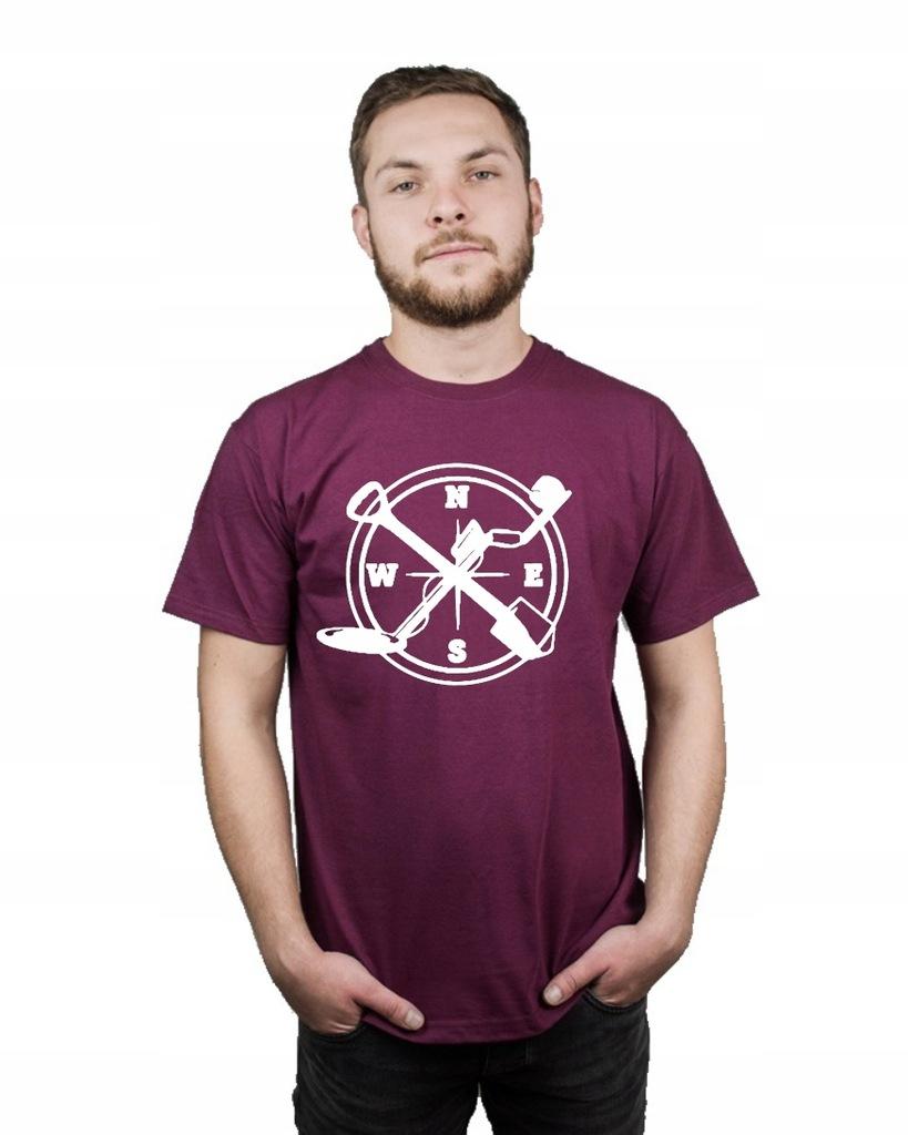 Koszulka męska WYKOPKI SAPERKA KOMPAS XXL