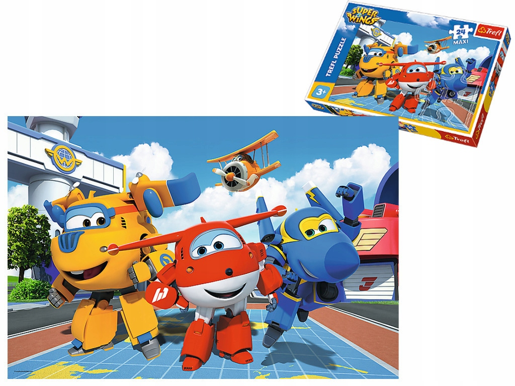 Trefl Puzzles for Kids Super Wings 60 elements